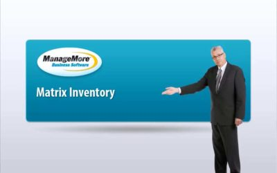 Creating a Matrix Inventory Item – Video Tutorial