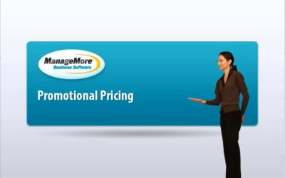 Promotional Pricing – Video Tutorial